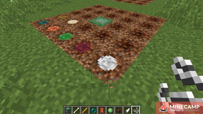 Attained Drops 2 - мод на выращивание любых предметов Minecraft