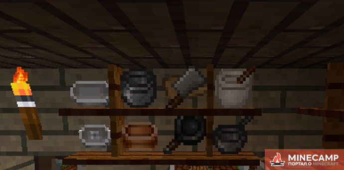 HarvestCraft мод на еду