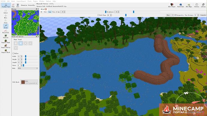 MCEdit программа для редактирования карт в Minecraft
