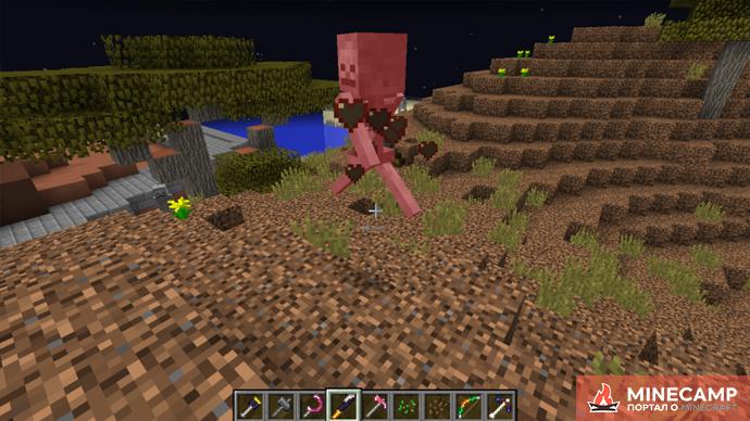 Silent Gear - мод на модульную систему крафта инструментов и оружия в Minecraft