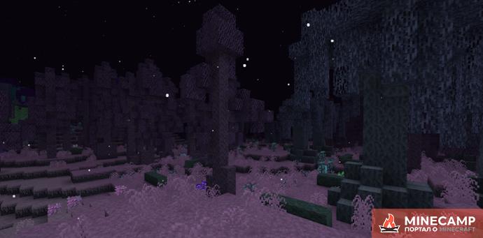 The Midnight мод на темное измерение для Minecraft