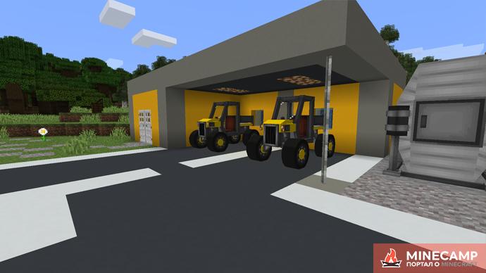 ZCBM Vehicles - датапак на транспорт в Minecraft 1.14.4